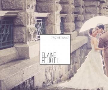 浪漫雨中婚照 ELAINE & ELLIOTT by ISAAC