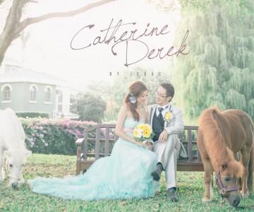令人羨慕的婚禮 Catherine & Derek BY ISAAC