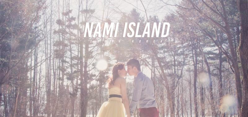 跟可愛松鼠拍婚紗相 - NAMI ISLAND