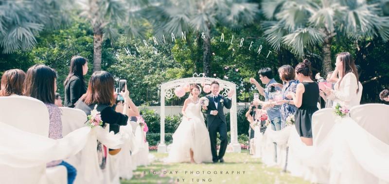 進入夢幻的婚禮 Cherrian & Albert by TUNG