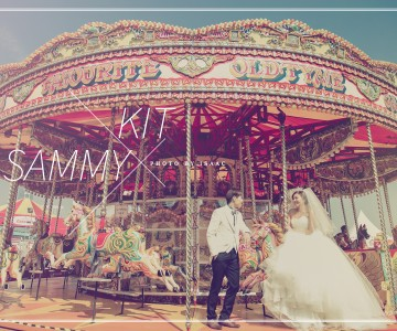 LOVE WONDERLAND (aia carnival) KIT & SAMMY BY ISAAC