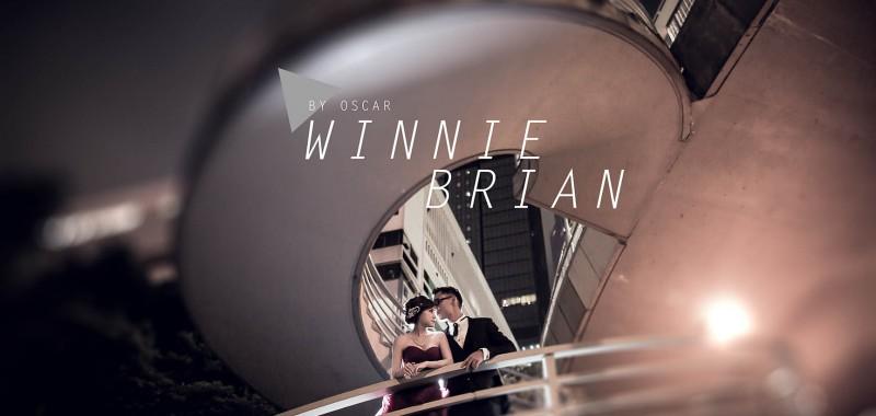 擧過摩星嶺再到鐘聲泳棚 Winnie & Brian By OSCAR