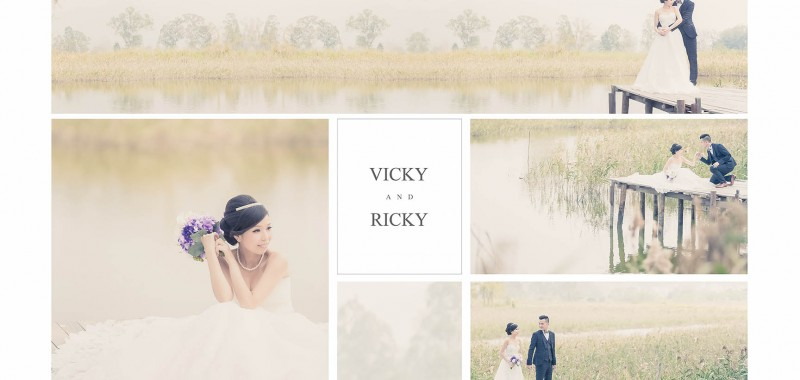 VICKY & RICKY PRE-WEDDING BY OSCAR
