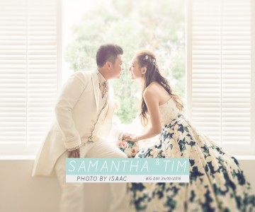 海邊的婚禮 SAMANTHA & TIM BY ISAAC