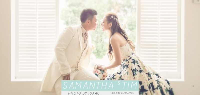 海邊的婚禮 SAMANTHA & TIM BY ISAAC