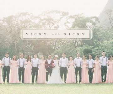 VICKY & RICKY BIG DAY BY TUNG