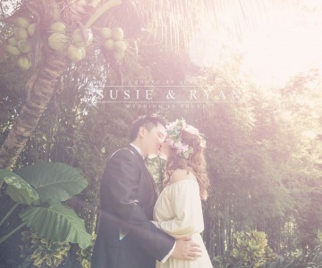 Susie & Ryan's Wedding in Phuket photo by ISAAC