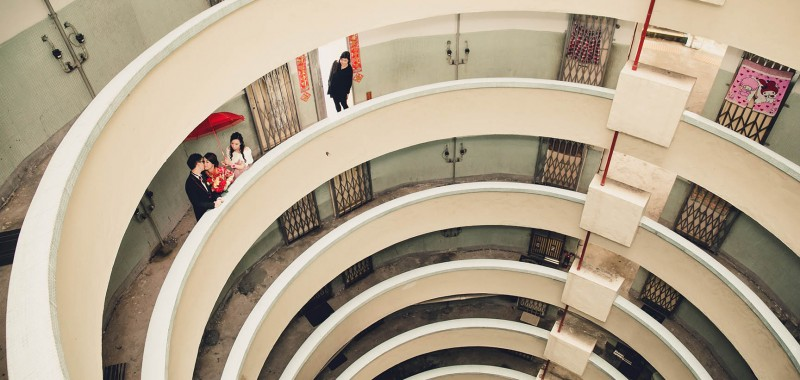本地限定 : 香港情懷 舊式屋邨之美