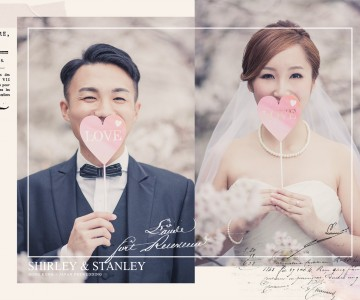 Shirley & Stanley 香港 + 京都櫻花拍攝 by OSCAR