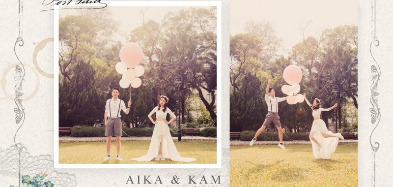 AIKA & KAM 香港PRE-WEDDING + BIG DAY拍攝 BY ISAAC