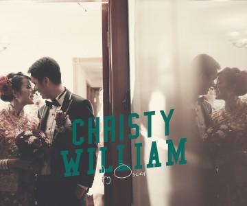 Christy & William's Wedding Day by OSCAR