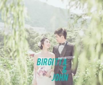 Birgitta and John by oscar