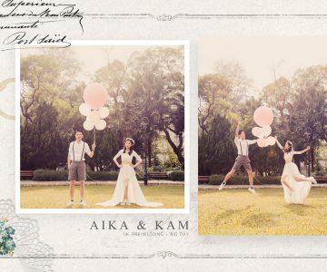 AIKA & KAM 香港PRE-WEDDING + BIG DAY拍攝 BY ISAAC